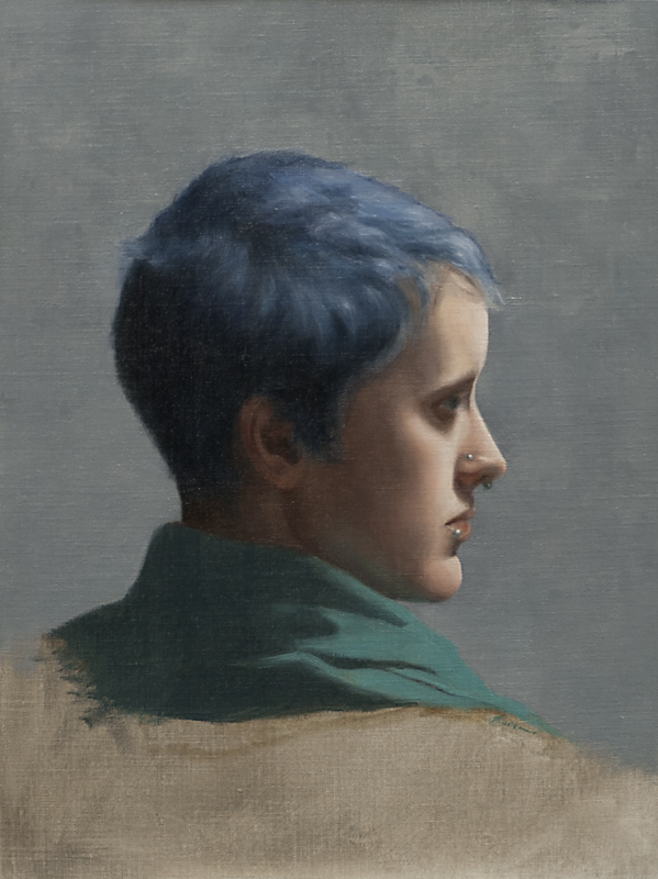 Realist Painting by Toronto Academy of Realist Art School based on 19th Century French Academies.