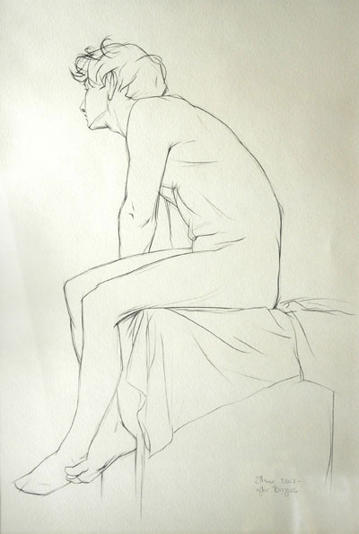 Figure Construct Line Drawing