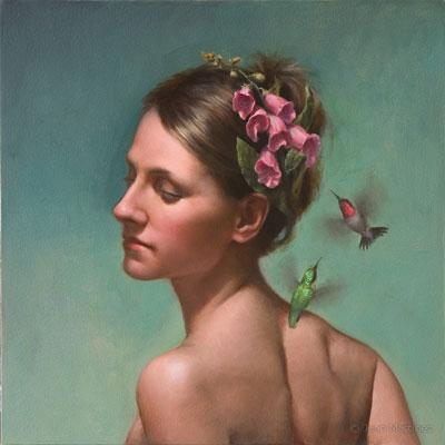 Imaginative Portrait Painting