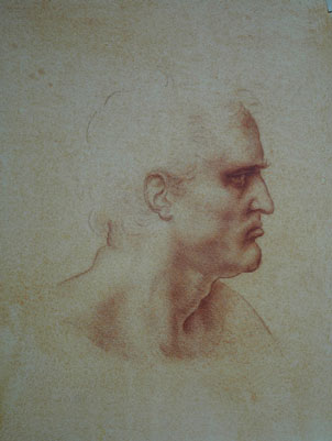 Old Master Drawing Copy