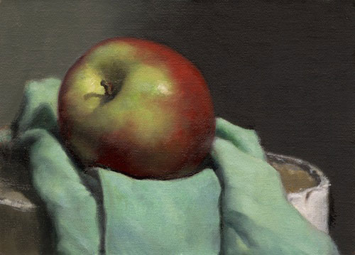 Realist Painting by Toronto Academy of Realist Art School . Based on 19th Century French Academies.