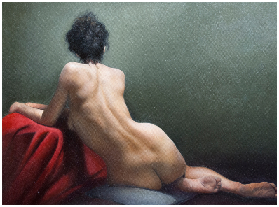 Figure Painting by Carey Alvez