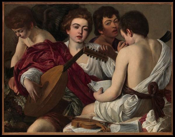 Musicians, Caravaggio