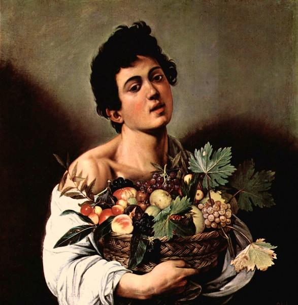 Michelangelo_Caravaggio_BoyWithABasketofFruit